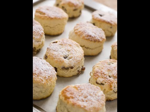 Gluten Free Fruit Scones - Facebook Live