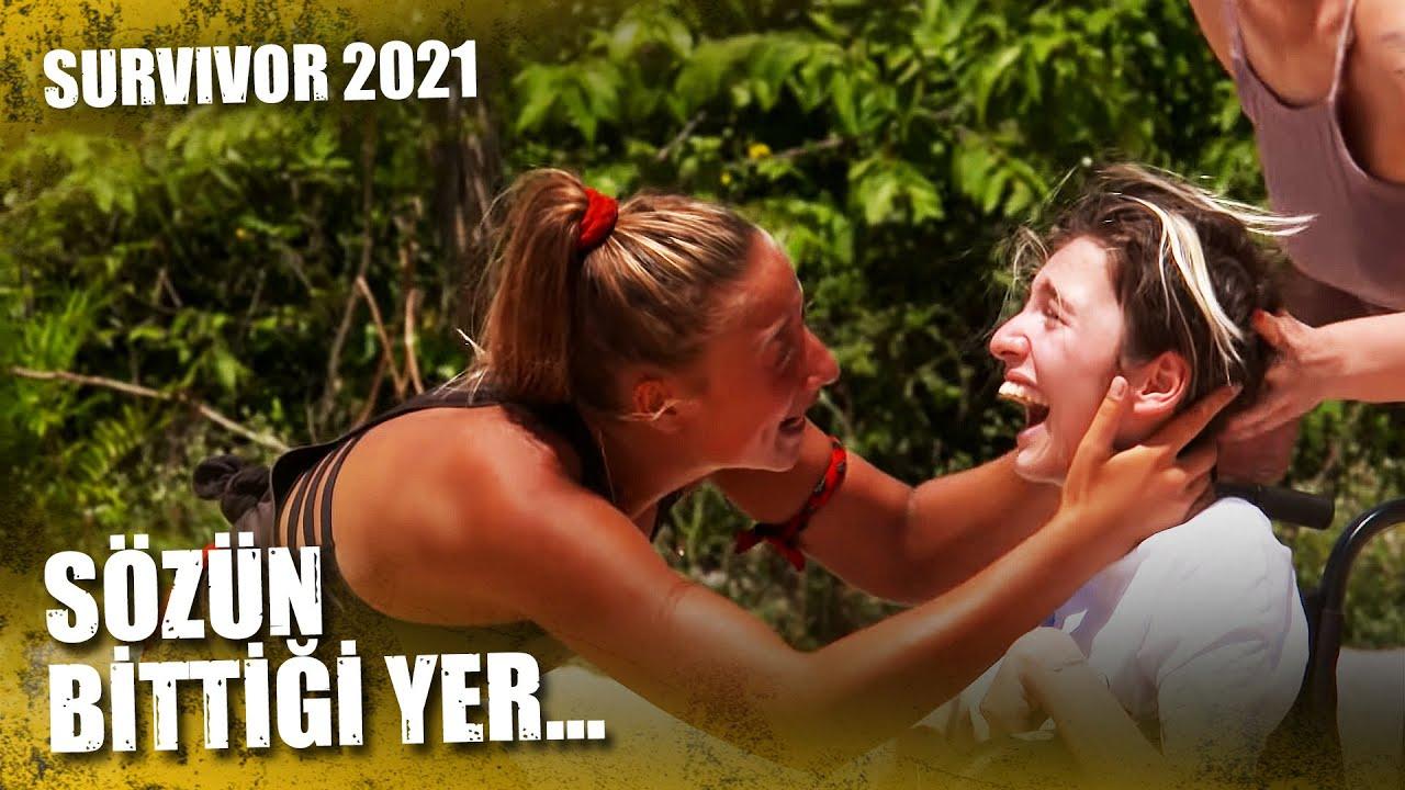 ALEYNA'NIN KARDEŞİYLE BULUŞMA ANI!   Survivor 2021