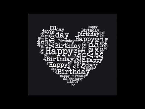 у тебя сегодня день рождения тост и песни праздник поздравления