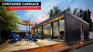 Ultra-modern Container Home Airbnb In Downtown Kelowna, Canada