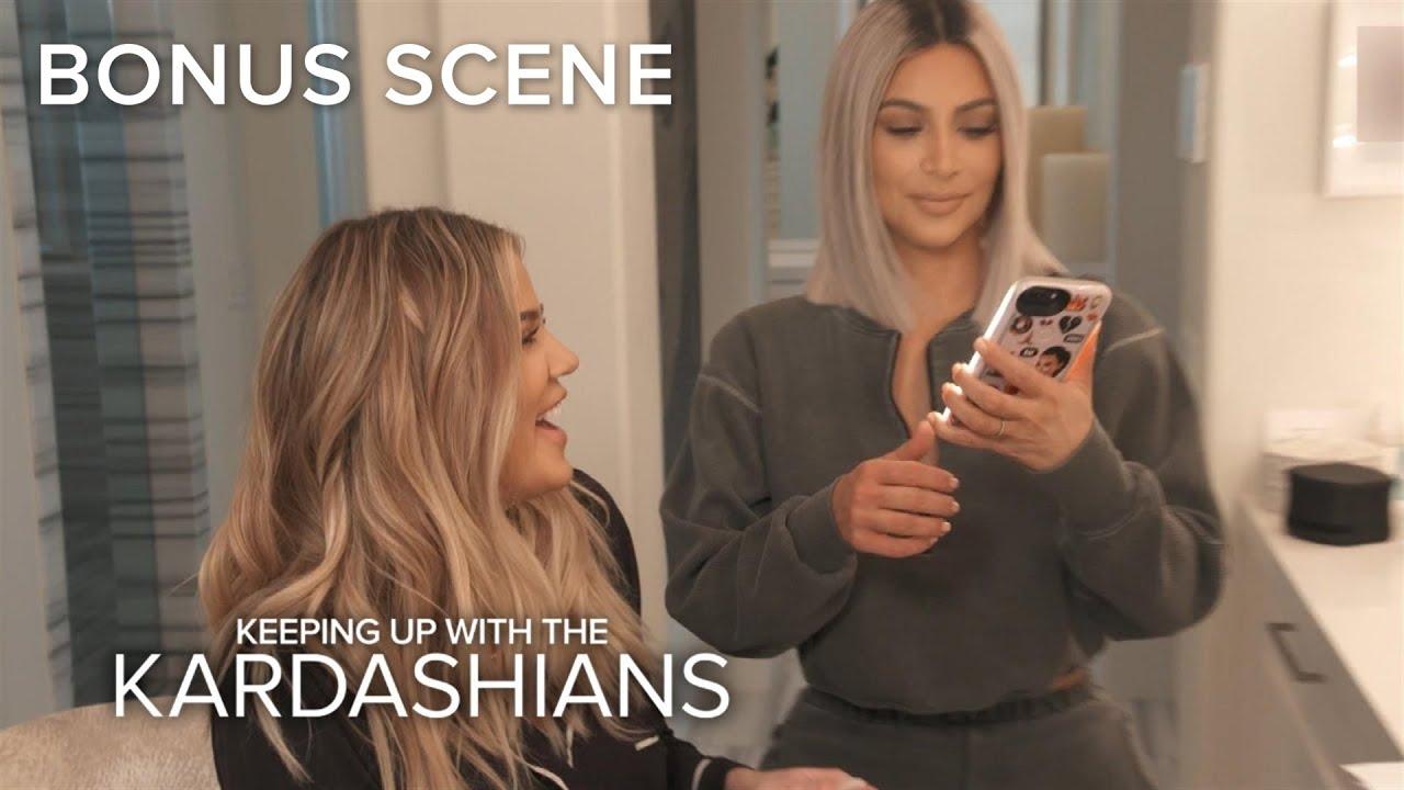 "KUWTK | Kim & Khloé Think Kourtney No Longer ""Wants to Be a Kardashian"" | E!"
