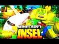 Der FLUGZEUG ABSTURZ     Minecraft INSEL  01