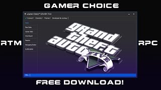 RTM/RPC TOOL Gamer Choice RECOVERY,OUTFIT EDITOR ECC.. GTA V 1.27 FREE DL!