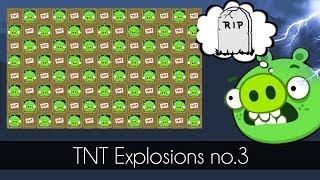 Bad Piggies - 1000 PIGGIES TNT EXPLOSIONS MASTER!