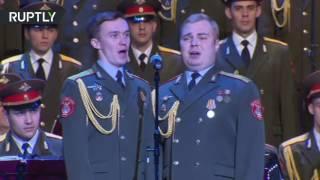 Ансамбль Александрова в новом составе впервые вышел на сцену Театра Российской армии