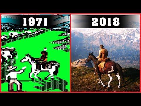 Western Video Games Evolution [1971 - 2018]