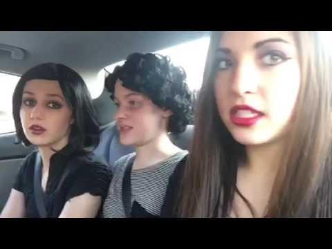"Gov. Mifflin presents ""The Addams Family"" - Carpool Karaoke with the Addams Family"