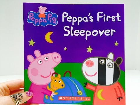 Peppa Pig's First Sleepover Read-A-Long Story Book