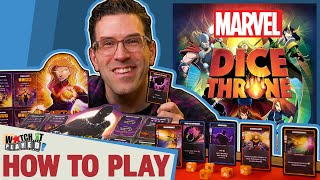 Marvel: Dice Throne - H๐w To Play