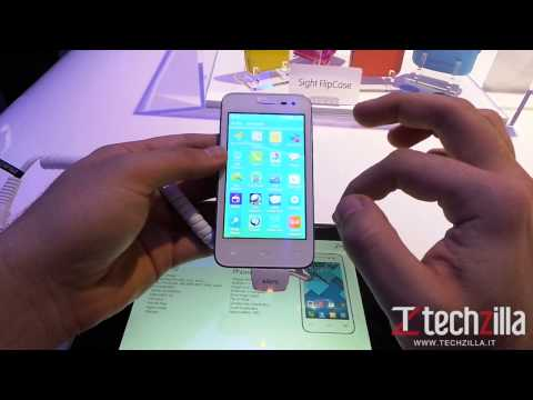 Alcatel One Touch Pop S3 video anteprima da Techzilla.it | MWC 2014