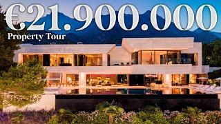 Inside €21.900.000 Mega Mansion - Luxury Modern House in Marbella - El Nido   Drumelia Property Tour