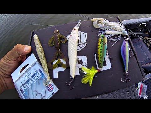 MTB Pro Box (Late Summer Tidal River Bass Fishing) James River Virginia