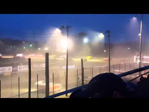 3-12-2016 Mods. Feature at Georgetown Speedway(part1)
