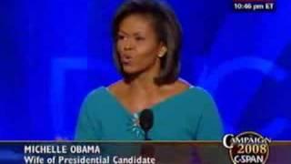 Michelle Obama Keynote Address at DNC