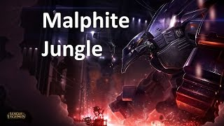League of Legends : Season 5 Jungle - Season 5 Malphite Jungle