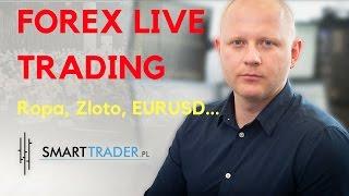 Forex Live Trading, sygnały, zagrania, prowadzenie pozycji - ropa, złoto, eurusd, gbpcad...