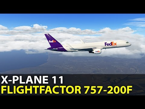 HUGE PRODUCT NAME, FlightFactor Boeing 757 v2 Professional Extended, PilotEdge ✈️ 2017-11-24