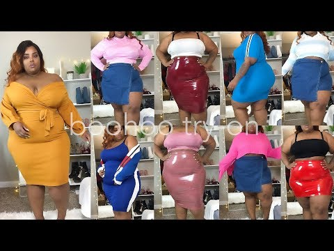 boohoo $500 TRY-ON Haul! | Plus Size US20 - UK24 | Spring 2018 from YouTube · Duration:  25 minutes 9 seconds