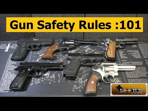 Gun Safety 101 : Handguns