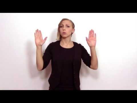 Teckenspråk - Jonas Gardell, Aldrig ska jag sluta älska dig - MegaVega (Swedish sign language)
