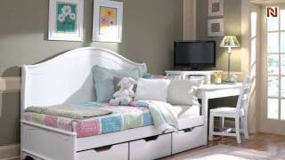 Lea 012-901 3/3 Twin Daybed Back Panel From Haley