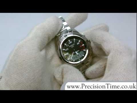 Tissot T047.420.44.00 T-Touch II Titanium Quartz Gents Watch
