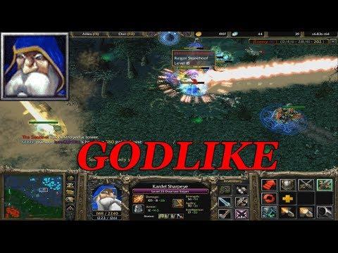 DOTA 1 - SNIPER GODLIKE GAMEPLAY | Warcraft 3 - Frozen Throne