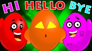 Sticks And Stones | Scary Nursery Rhymes For Kids | Baby Songs By Halloween Mystery Surprise Eggs