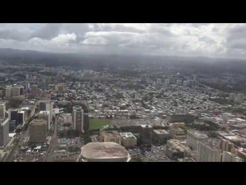 United 737-900ER Landing in San Juan, Puerto Rico