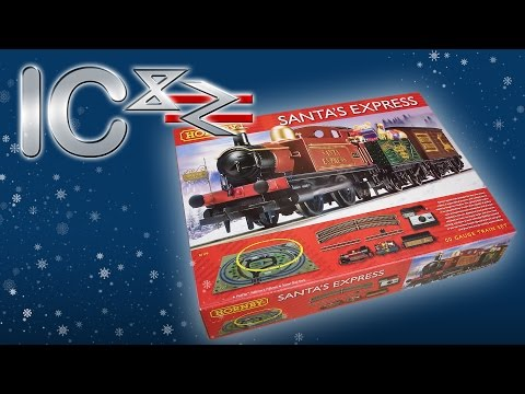 Opening the Santa Express Train Set from Hornby