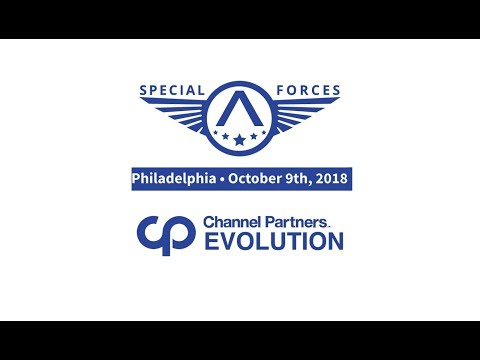 AVANT Special Forces at Channel Partners  Evolution 2018 - Philly