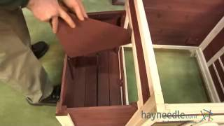 Assembly Video Advantek Prairie Home Poultry Hutch