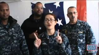 USOHRCV Valentine's Day Salute to Love 2015 - Military LipDub video