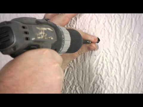 How To Install A Toggle Bolt In Plaster Walls : Plaster Walls