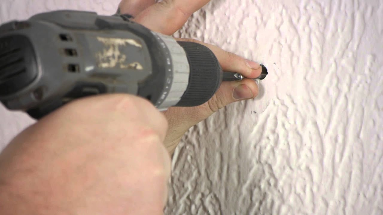 How To Install A Toggle Bolt In Plaster Walls Plaster