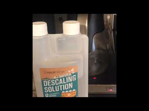 How I Clean My Ninja Coffee Maker /  Halefresh  Solution Review| Clean With Me | Ninja Coffee Bar