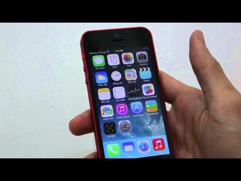 Hướng dẫn sử dụng iOS 7