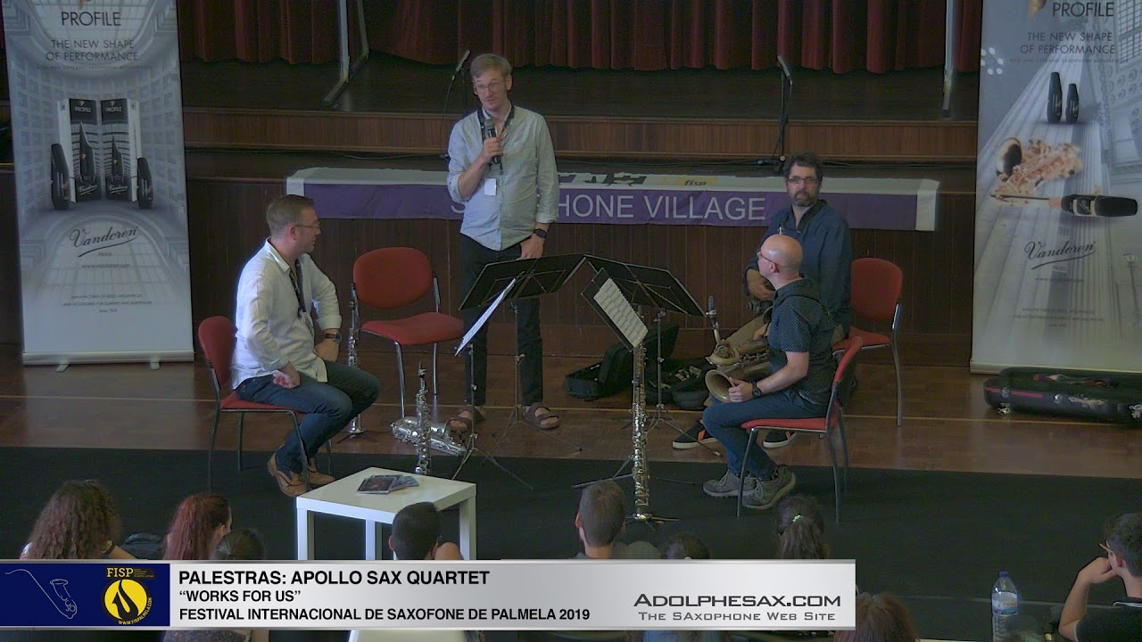FISPalmela 2019 - UK Apollo Saxophone Quartet (Talk-Concerto)