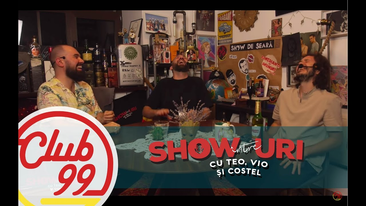 Podcast #288 | Na, noi ne-am distrat! | Între showuri cu Teo, Vio și Costel