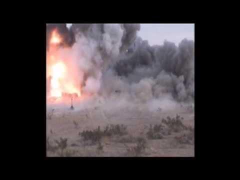 XM982 Excalibur Testing at Yuma Proving Ground