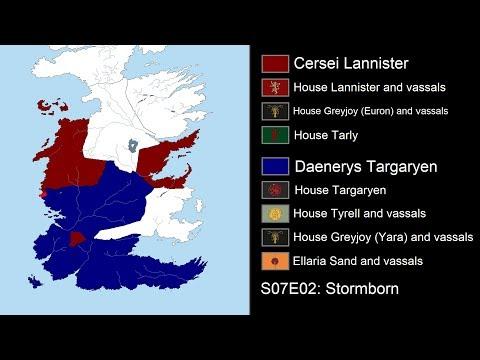 Daenerys Targaryen's Invasion of Westeros: Every Day