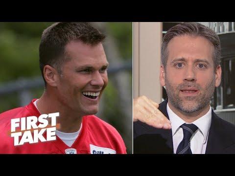 Tom Brady responds to Max Kellerman's 'cliff theory'   First Take