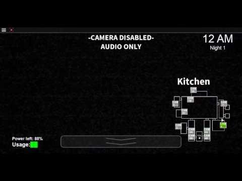 FNAF 1 [roblox 2016] exact replica (game in description)
