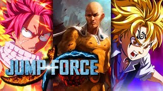 Saitama, Natsu, & Meliodas Can't Be In Jump Force! Here Is Why