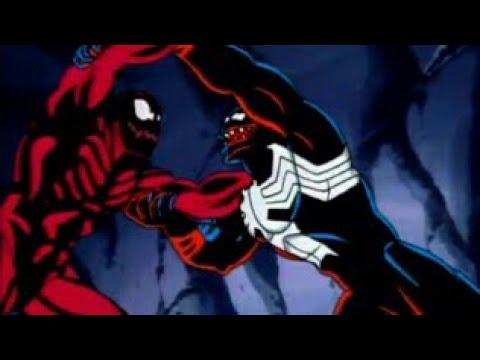 Человек паук веном и карнаж мультфильм 1994