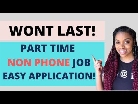 RARE Non Phone Part Time Chat Work From Home Job With Quick & Easy Application!