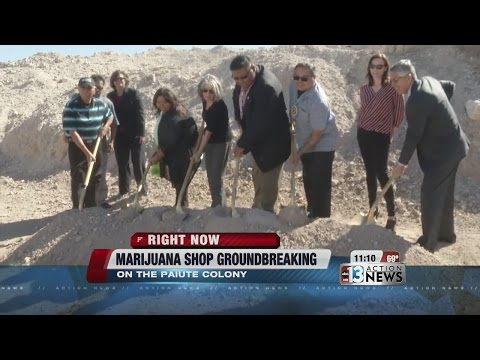 Las Vegas Paiute and Ultra Health groundbreaking Feb 29, 2016