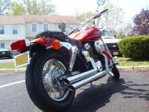2006 honda shadow spirit 750 cobra streetrod exhaust youtube. Black Bedroom Furniture Sets. Home Design Ideas