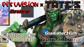 Sideshow Collectibles Gladiator Hulk Premium Format Video Review @ TATE'S Comics