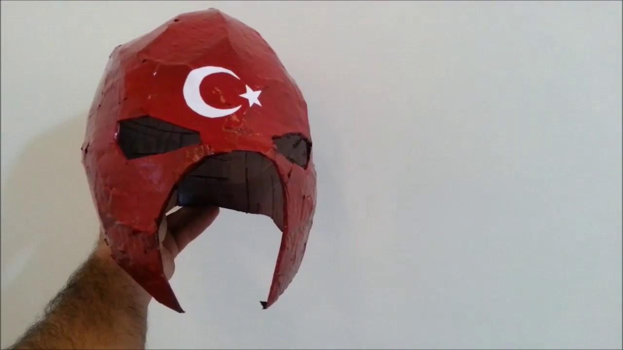 Ayyildizli Adam Maske Yapimi Kertenkele Youtube
